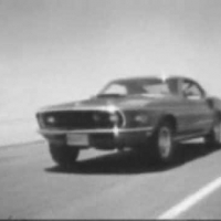 Ford Mustang 428 Cobra Jet commercials of '69