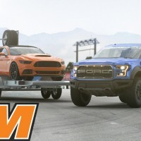 Win This 2017 Raptor, 850+ HP Mustang & Trailer - AmericanMuscle.com - YouTube